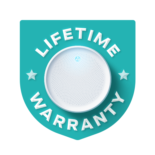 Lifetime warranty for your Dodow